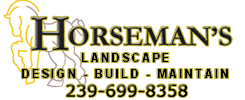 Horsemans landscape 2 true logo cape coral florida